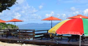 沖縄トンナハビーチ テラス席